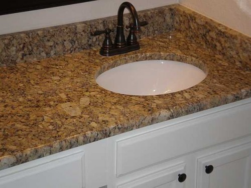 Close up of Granite C-T and Sink (1)